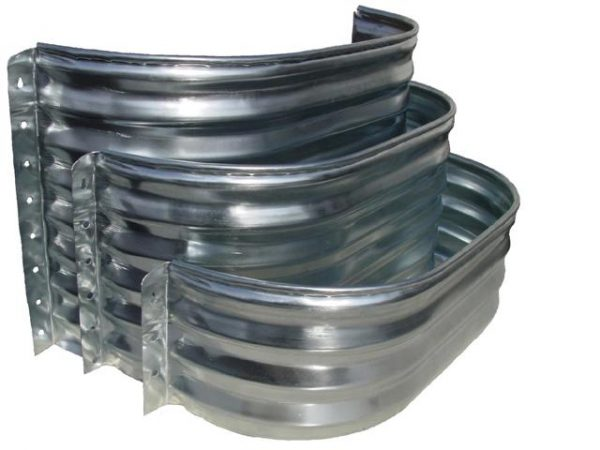 galvanized window well elongated galvanized steel window well window well covers 1190