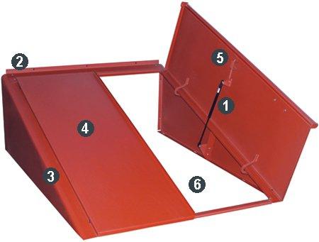 Bilco Classic Series Basement Door With Steel Walls