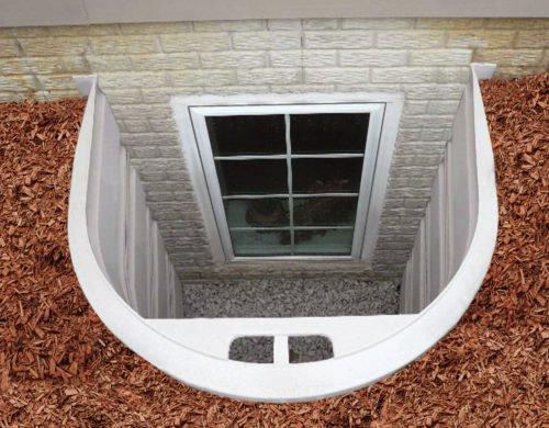 Bilco stakwel modular window well unit 54 width for Monarch basement windows