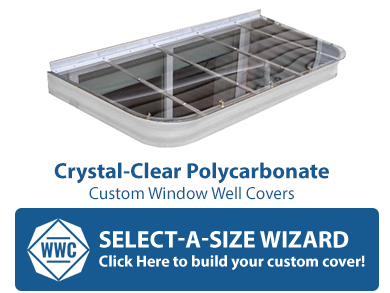 Custom Window Well Covers Enter Your Size Order Online