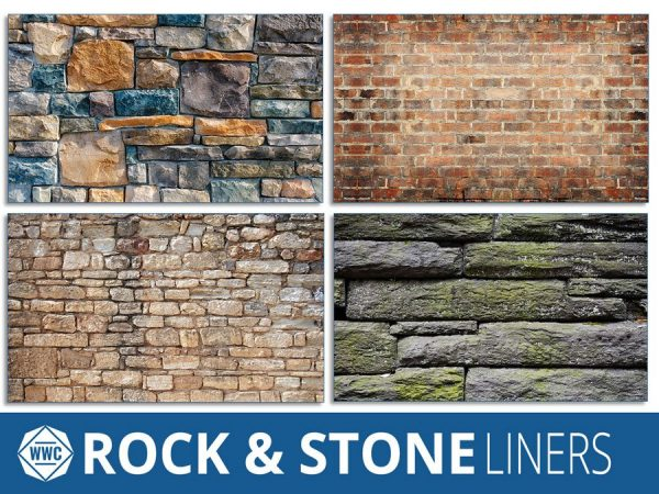 Faux Rock Stone Series Window Well Liners