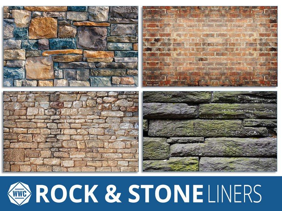 Faux Rock Amp Stone Series Window Well Liners Window