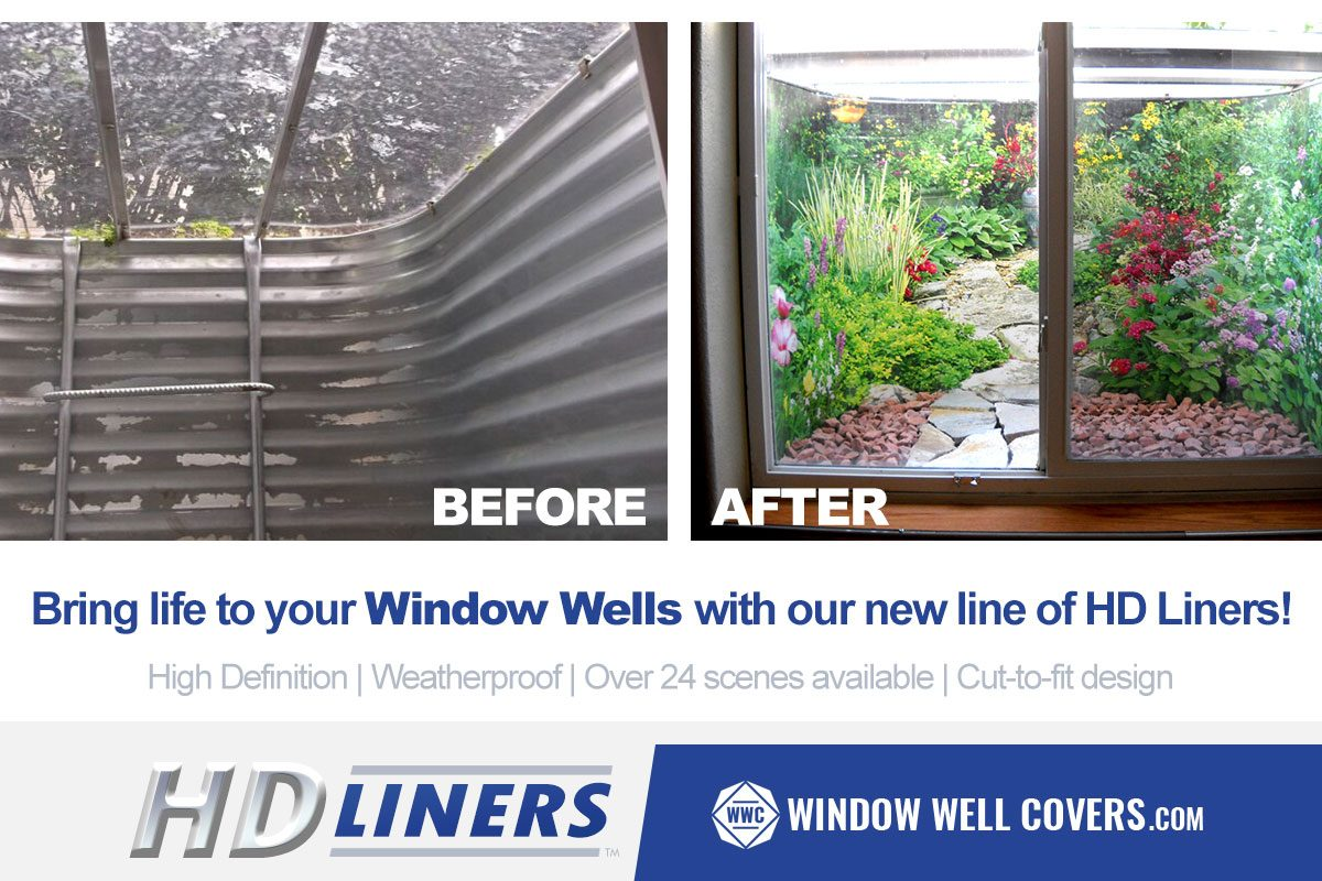 window well experts liners windowwellcoverscom launches new line of highdefinition weatherproof decorative window well liners experts author at covers
