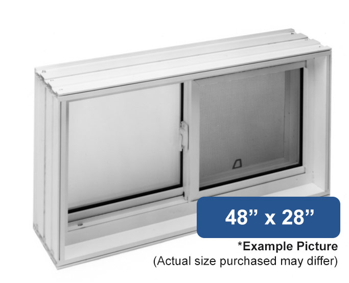 48 x 28 vinyl slider basement window buy online for 12 x 48 window