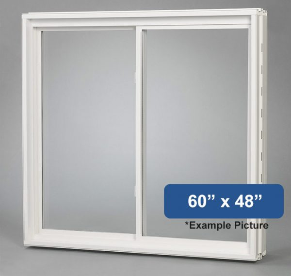60 X 48 Vinyl Slider Basement Window Buy Online