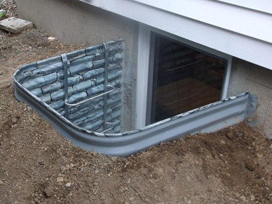 I Have A Metal Egress Well In My Back Yard Around The