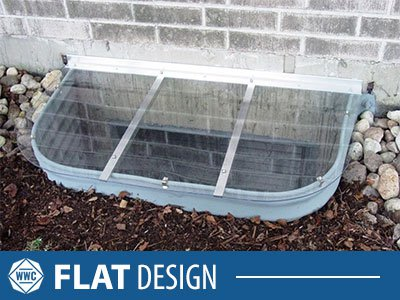 Flat Window Well Cover
