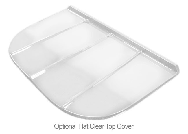optional flat top cover