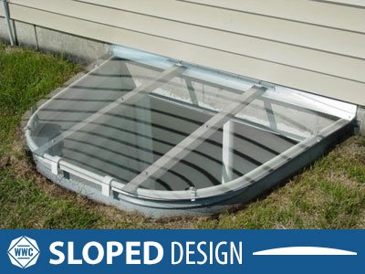 Sloped Window Well Cover