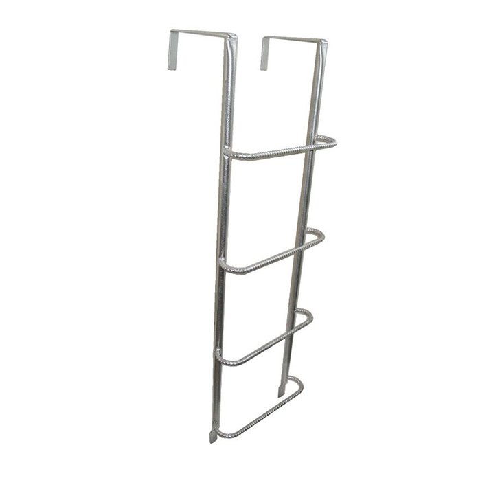Example of a ladder for a concrete, brick or timber well