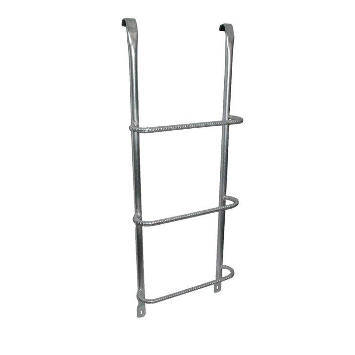 hook over fire escape ladder