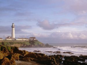 Pigeon Point Lighthouse in Santa Cruz, California
