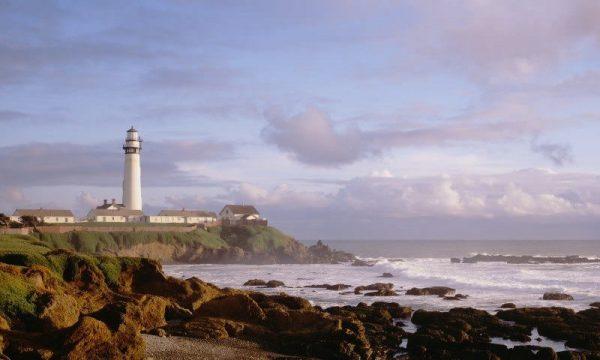 Pigeon Point Lighthouse in Santa Cruz, California