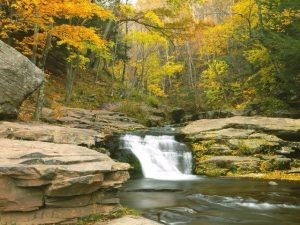 High-Definition liner of Kaaterskill Creek in the Catskill Mountains, NY