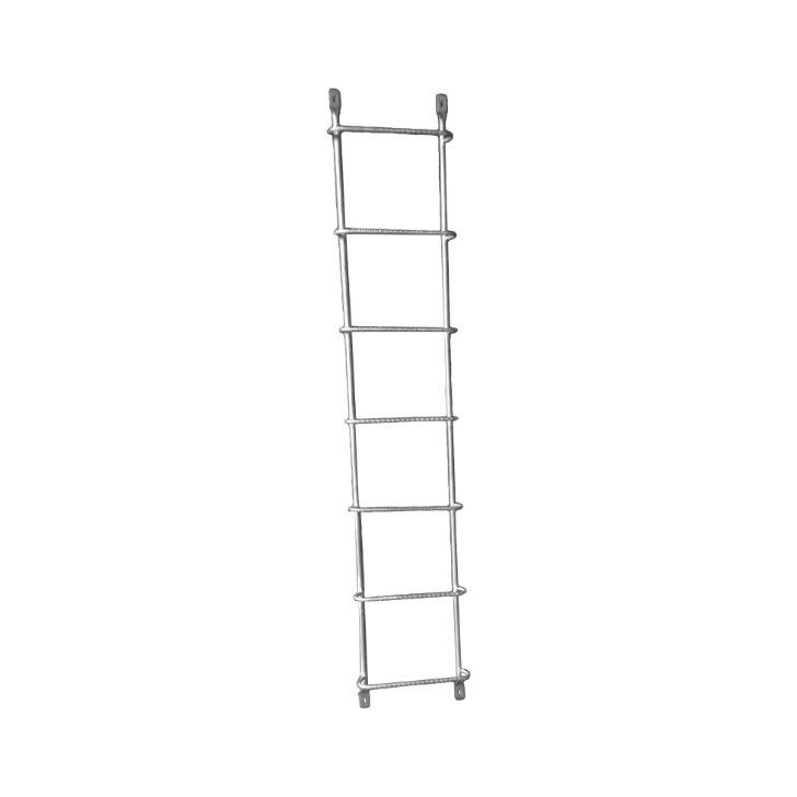 bolt-on fire escape ladder