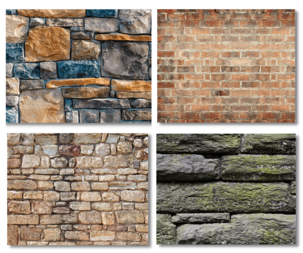 Faux Rock & Stone Series Window Well Liners