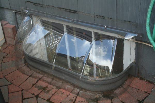 bubble dome window well cover 43x14x15
