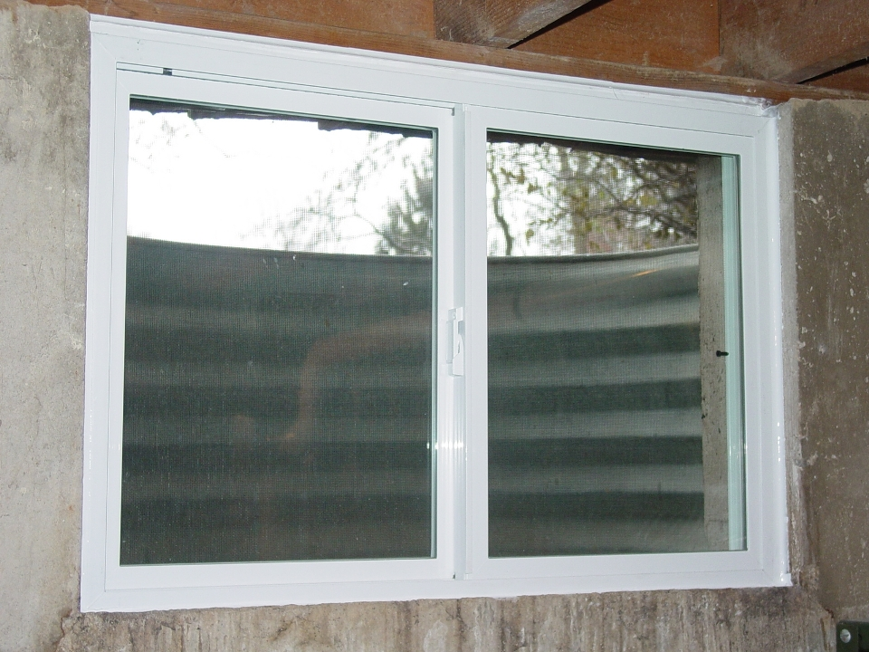 Basement Window Replacement Monarch C400a36 Vinyl